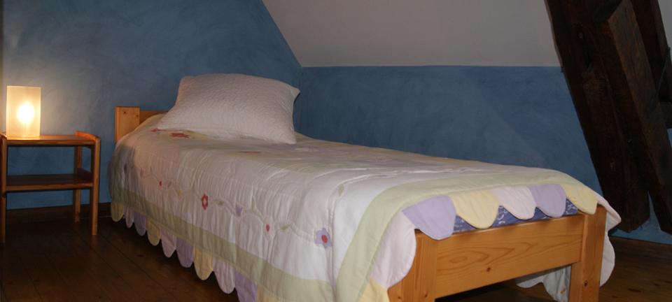 Chambre simple lavande